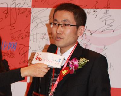 中国净水器网采访沁诺刘经理